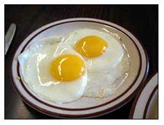 Sunnyside up eggs!