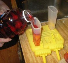 Fruit Popsicles  pourjuice by recipe4living, via Flickr