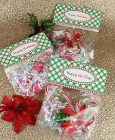 kids christmas party favors homemade google search 3