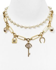 Lauren Ralph Lauren Chain Link Charm Necklace, 18"