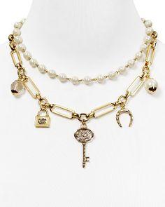 """Lauren Ralph Lauren Chain Link Charm Necklace, 18""""   Bloomingdale's"""