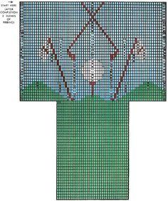 Hole-in-One Golf Socks Pattern #7235