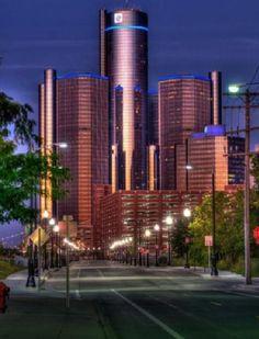 Love the RenCen in Detroit, MI