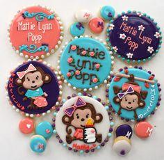Girl Monkey Cookies