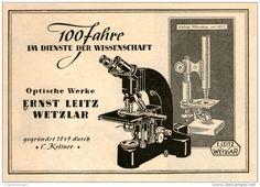 Original-Werbung/Inserat/ Anzeige 1949 : MIKROSKOPE / ERNST LEITZ WETZLAR ca. 100 x 140 mm