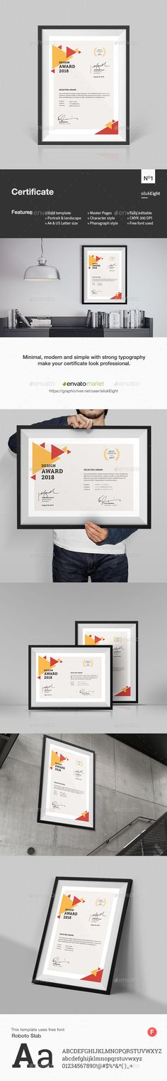 Multipurpose #Certificates - Certificates Stationery Download here:  https://graphicriver.net/item/multipurpose-certificates/20016294?ref=alena994