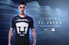 Se ha presentado el nuevo tercer Jersey Nike de Pumas 2017, que usa el template global de los clubes top de la marca estadounidense.