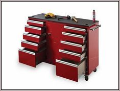 Rolling Work Bench Garage Cabinets Plans Two Car Garage, Diy Garage, Garage Plans, Plywood Kitchen, Plywood Cabinets, Kitchen Cabinets Nz, Garage Storage Cabinets, Cabinet Plans, Bench