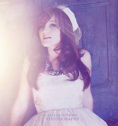http://kpetersenphotography.com, vintage, woman, red hair, vintage hat, vintage dress,