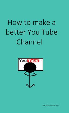 Everyone knows that You Tube is a video sharing website.  It gives people a perfect opportunity to create their own video and it can be made by simply using your webcam and movie making program on ...