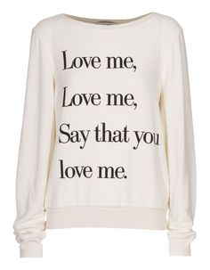 Love me! omg i need this and maybe flamingo will do what the shirt says!! lol jk that will probably never happen.... :(