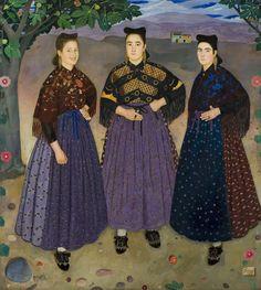 fraga:trajes tradicionales de aragon pintados por viladrich - Buscar con Google