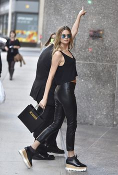 Best Street Style Outfits of the Victoria's Secret Angels