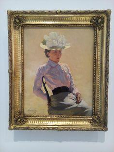 Nikolay Yaroshenko - Portret van een onbekende vrouw - Drents museum
