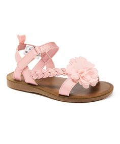 Look at this Pink Anna Sandal on #zulily today!