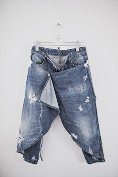Leo trouser/skirt - Zebra.