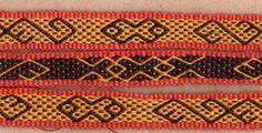 Lots of woven band reconstructions, including Birka, Køstrup, Mammen. (Danish)