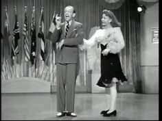 """VIDEO..Joan Leslie - Fred Astaire """"We Have a Lot in Common"""", from the movie """"The Sky's the Limit."""""""