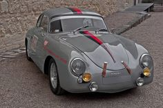 "Porsche 356 fashion gray ""1953″"