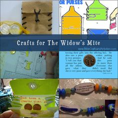 Crafts for The Widow's Mite - Bible Crafts and Activities