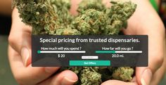 """Wikileaf.com, a new website based in Seattle, is trying to help marijuana users get the most bang for their buck by offering price comparison shopping of weed dispensaries, much like Priceline.com offers for travel. 