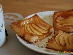 Sfogliatine mele e marmellata #ricette #food #recipes