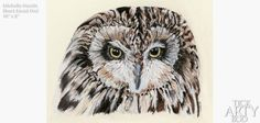 Michelle Hewitt | Tick Arty Boo Short Eared Owl