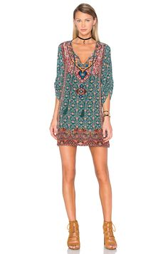 Tolani Lexi Dress in Forest