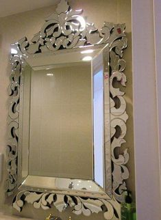 Venetian Style Bathroom Mirrors - Bathroom mirrors are a fantastic way to finish your room.