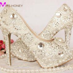 f48ec6bb6e316a Rhinestone Wedding Shoes