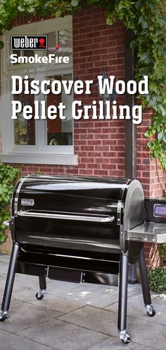 The Weber SmokeFire is the All-in-One wood pellet grill that sears, smokes, AND bakes. We've redefined what wood pellet grilling can be. Barbecue, Bbq Grill, Pellet Grill Recipes, Grilling Recipes, Food Grade Barrels, Blackstone Grill, Wood Pellet Grills, Wood Pellets, Fast Easy Meals