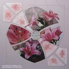 Bonjour à tous, quelques fleurs pour un peu de douceur pour clôturer ce mois de mars. Cardboard Picture Frames, Perth Western Australia, Let's Create, Diy Scrapbook, Junk Journal, Projects To Try, Gift Wrapping, 4 Photos, Mars
