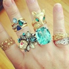 Which #ring is your favorite? #chloeandisabel #jewelry #rings #style www.candibychristine.com