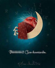 Shhhhhhh!!! Cuco durmiendo!!! Puro Pelo by Juan Chavetta!!!!