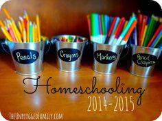 The Unplugged Family: Homeschooling 2014-2015