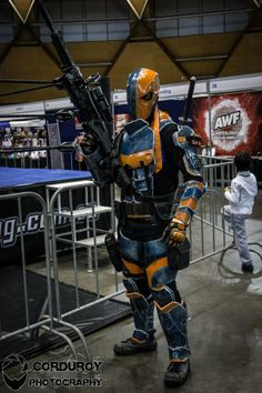 Dadpool Cosplay and Props (Julian Gemmell) flew in from Perth to be at Supanova, Sydney, 2014 (Corduroy Photography)