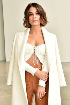 Nathalie Kelley Dion Lee Fashion Show 2018 in New York