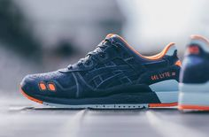 ASICS and Foot Locker teamed up with PENSOLE to challenge the best young design talents in the world to come up with new concepts for the footwear brand. Best Sneakers, Sneakers Fashion, Dope Fashion, Asics Shoes, Men's Shoes, Dress Shoes, Orange Shoes, Blue Orange, Navy Blue