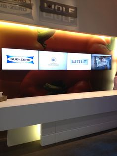 @Control4, Sub-Zero and Wolf bring intelligent technology to Chicago for KBIS 2012.
