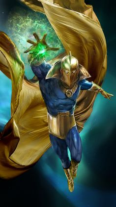 Dr. Fate by John Gallagher