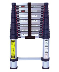 Foot Telescoping Aluminum Ladder Type I Professional Series by Xtend & Climb Best Ladder, Rv Hacks, Hacks Diy, Life Hacks, Type I, Rv Travel, Travel Trailers, Rv Trailers, Ideas