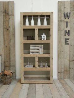 Steigerhout Kast Rikard - Steigerhout Furniture | Exclusieve steigerhout meubelen voor binnen en buiten! Uw steigerhouten meubelen en tuinmeubelen op maat gemaakt.