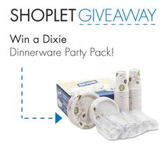 2 lucky winners will win a Dixie Dinnerware Party Pack! Just Follow, Repin + leave us a comment on our blog about what your favorite barbecue food is! #GIVEAWAY #WIN Good luck :)