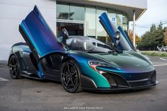 Types cars: This Color Shifting McLaren Spider Will Blow Your Mind New Sports Cars, Super Sport Cars, Exotic Sports Cars, Exotic Cars, Super Cars, Pagani Huayra, Sexy Cars, Hot Cars, Mclaren 675lt