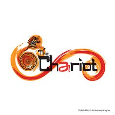 "Logo Design for Chariot re branding - The brief was to design a  new logo for ""The Chariot"" to give it a new look for its relaunch. It needed to have an essence of its former logo so that we tap into the brand equity it had built over the years. However it was required to capture the essence of Jaffna, with its hot and spicy cuisines together with a pinch  of the Tamil culture. Therefore we based our colour scheme on chilli and saffron."