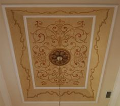 Dining Room Ceiling, Windermere, Florida by Jeff Huckaby