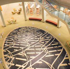 DNA carpet, I want it! -cp