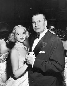 C.Z. and Husband Winston Frederick Churchill Guest in 1953.