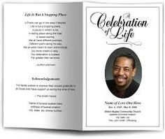 Image Result For Funeral Programs Templates  Prayer Card Template Free