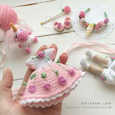 Best 12 Handicraft and Cute Amigurumi Doll Pattern Ideas Part amigurumi doll patterns; Crochet Doll Dress, Crochet Doll Clothes, Crochet Doll Pattern, Crochet Patterns Amigurumi, Amigurumi Doll, Crochet Crafts, Crochet Projects, Crochet Baby, Knit Crochet